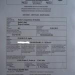 Pracovní certifikát