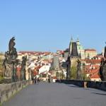 Praha je poměrně hezounké městečko