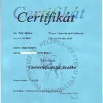 Canisterapeutický certifikát